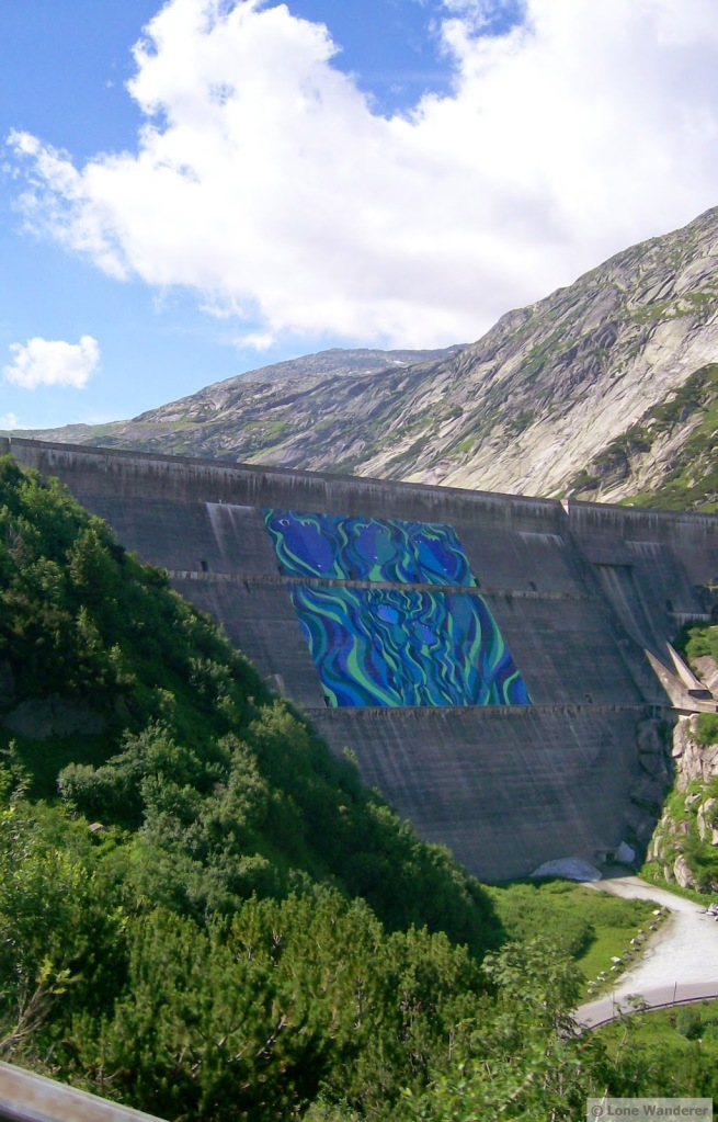Dam of the Räterichsbodensee