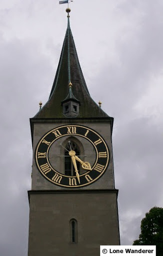 Biggest clock in Switzerland