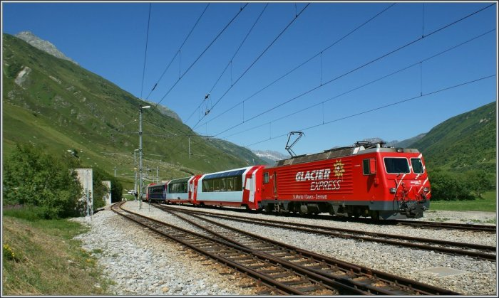 A day on the Glacier Express