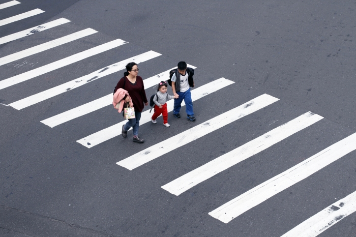 Concern for the safety of pedestrians