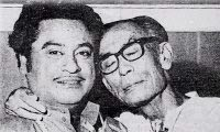 Kishore with S D Burman
