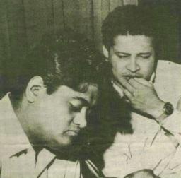 Kishore with Laxmi-Pyare